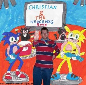 Christian And The Hedgehog Boys Cwcki